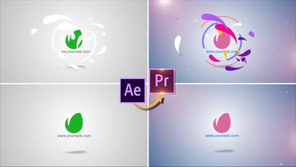 Thumbnail for Elegant Logo Revealer - Premiere PRO