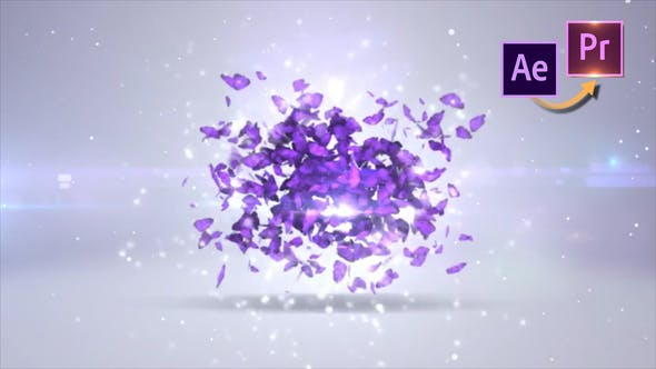 Thumbnail for Butterfly Logo Revealer - Premiere PRO