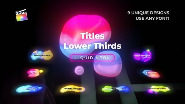 Liquid Neon Titles 4