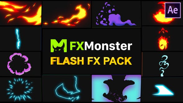 Thumbnail for Flash FX Elements | After Effects