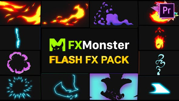 Thumbnail for Flash FX Elements | Premiere Pro MOGRT