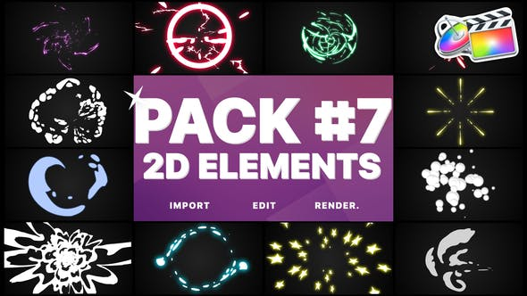 Thumbnail for Flash FX Elements Pack 07 | FCPX