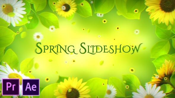 Thumbnail for Spring Slideshow - Premiere Pro