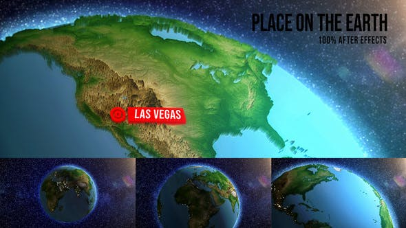 Thumbnail for Place on The Earth | Map | Globe