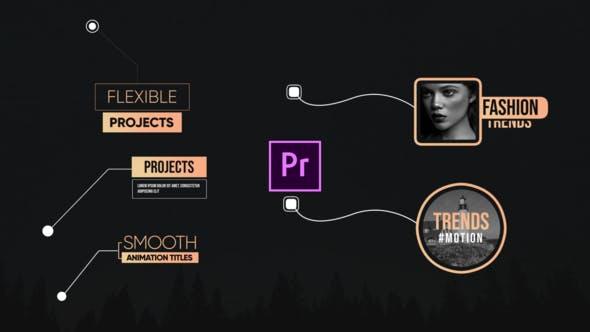 Thumbnail for Unique Callout Title-Premiere Pro