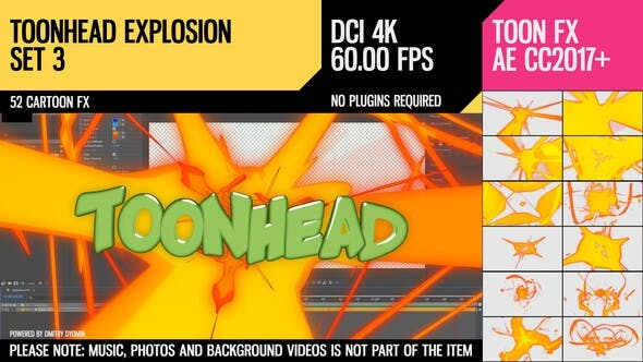 Thumbnail for Toonhead (Explosion FX Set 3)