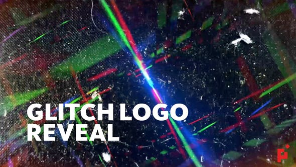 Thumbnail for Logo Glitch révèle | Pour Final Cut & Apple Motion