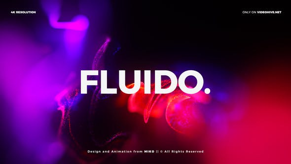 Cover Image for Particles Titles 4K - Fluido