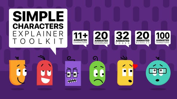 Thumbnail for Simple Characters Explainer Toolkit