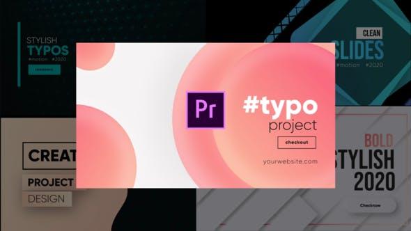Unique Typography- Premiere Pro