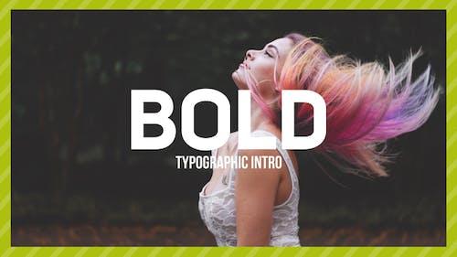 Bold Typo -Typographic Intro