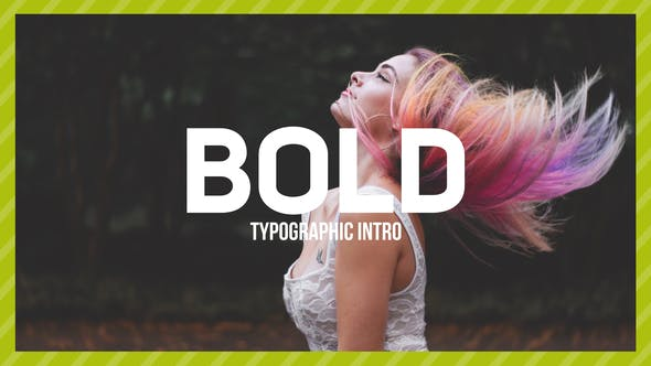 Thumbnail for Bold Typo -Typographic Intro
