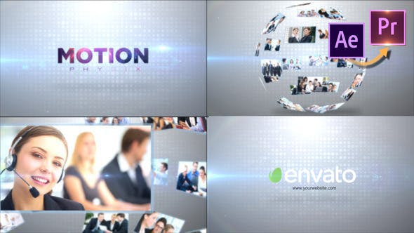 Thumbnail for Corporate Business Logo _Premiere PRO