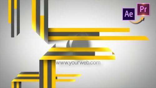 Stripes Logo Revelear - Premiere PRO