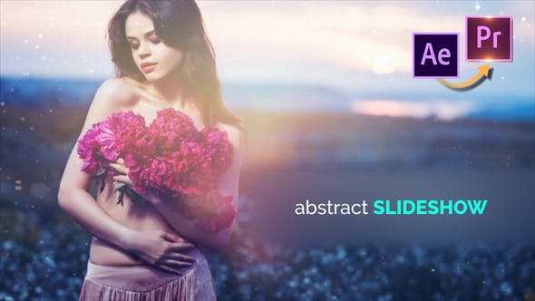 Thumbnail for Abstract Slideshow - Premiere PRO