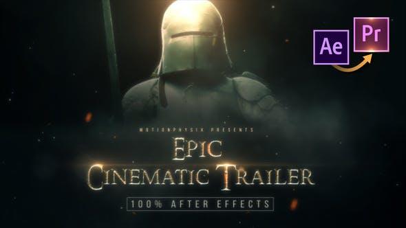 Thumbnail for Epic Cinematic Trailer - Premiere PRO