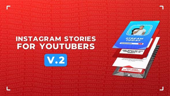 Thumbnail for Instagram Stories For YouTubers v.2