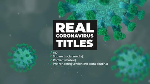 Real Coronavirus Titles
