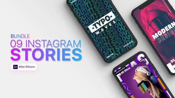 09 Instagram Stories Bundle