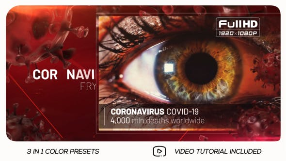 Thumbnail for COVID-19 Coronavirus Tehnology Slideshow
