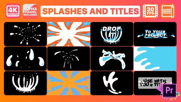 Thumbnail for Splash And Titles | Premiere Pro MOGRT