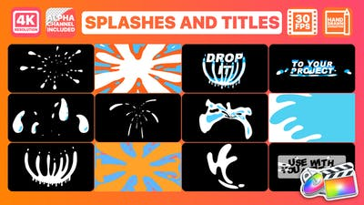 Splashes And Titles | FCPX