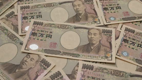 Thumbnail for Stack of Japanese Yen banknote