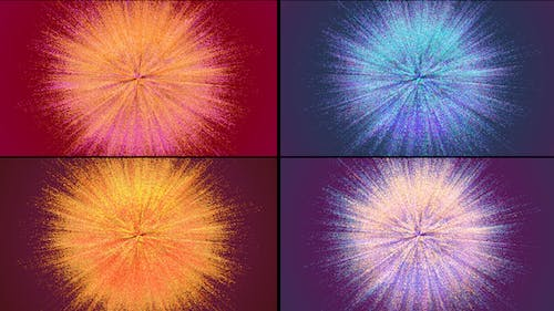Colored Powder Explosions Pack