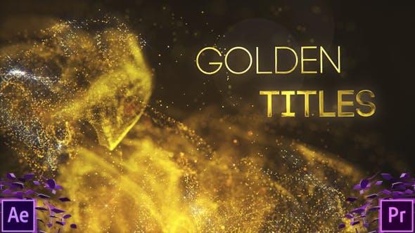 Thumbnail for Títulos del Partilce Dorado