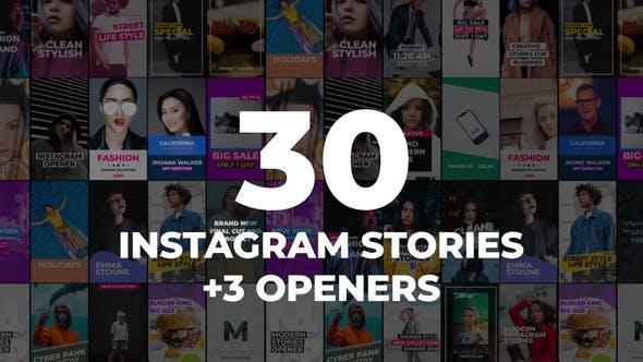 Thumbnail for 30 Instagram Stories Pack