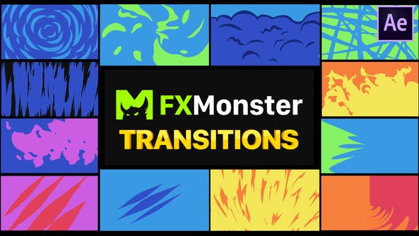 Thumbnail for Stylish Transitions | After Effects