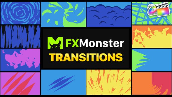 Thumbnail for Stylish Transitions | FCPX