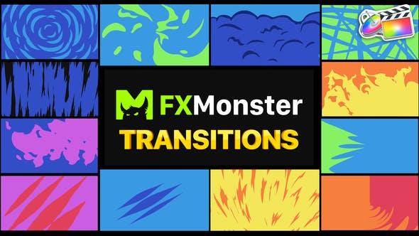 Stylish Transitions   FCPX