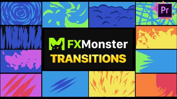 Thumbnail for Stylish Transitions | Premiere Pro MOGRT