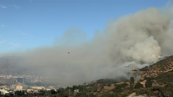 Thumbnail for Los Angeles County Fire Aviation Fighting the Massive Wildfire on Hollywood Hills