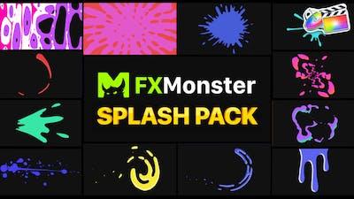 Splashes Pack   FCPX