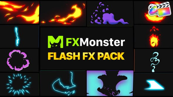 Thumbnail for Flash FX Elements | FCPX