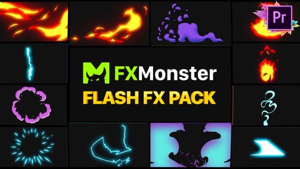 Thumbnail for Flash FX Elements | Premiere Pro MOGRT