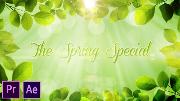 Thumbnail for The Spring Special - Promo Pack - Premiere Pro