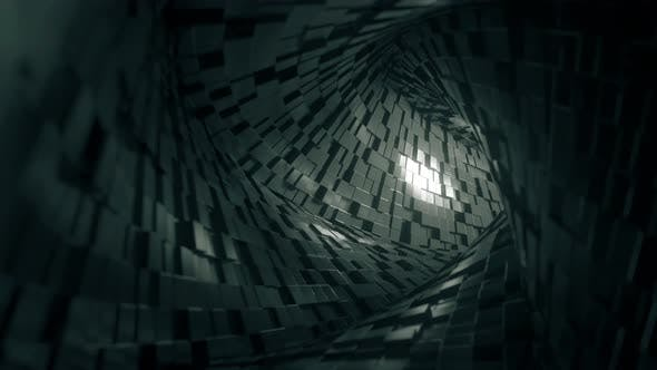 Thumbnail for Abstract Square Tunnel Made of Bricks