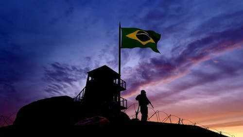 Brazil Holds Military seizures at the border in the Evening Times