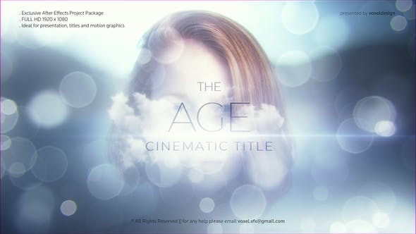 Thumbnail for The Age Cinematic Title