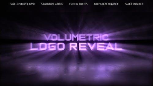 Volumetric Logo Reveal