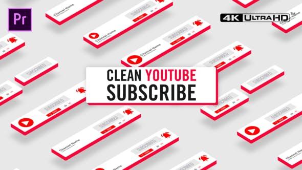 Thumbnail for Nettoyer Youtube S'abonner