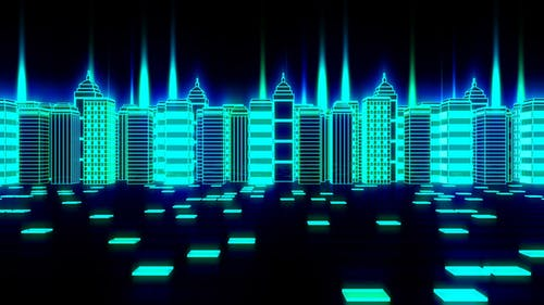 City Night Glowing