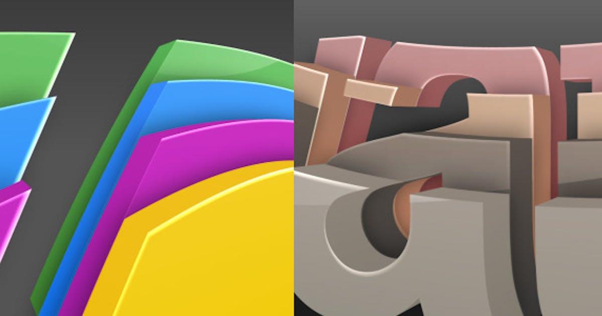 3D Colorize Logo Reveal