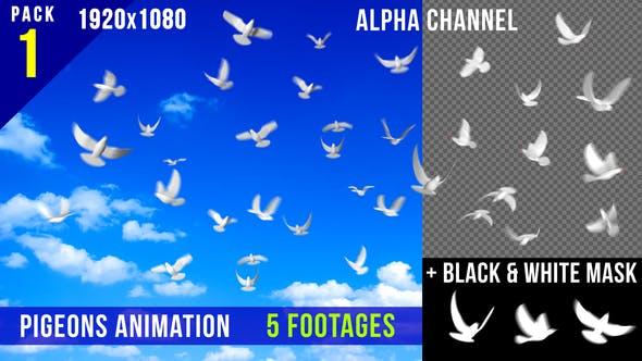 Thumbnail for Flying Doves 1