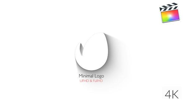 Thumbnail for Logo Minimal - Elegante 3D Reveal