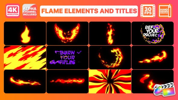 Thumbnail for Flame And Titles | FCPX