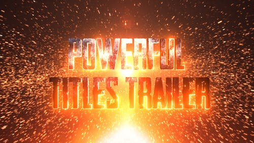 Powerful Title Trailer